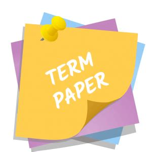 How to write a term research paper